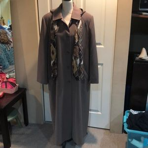 Like New-Hooded Trench Coat-16